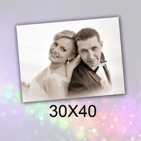 30X40 obraz na płótnie