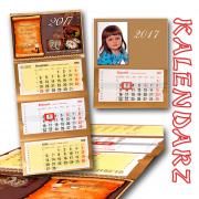kalendarz trójdzielny firmowy