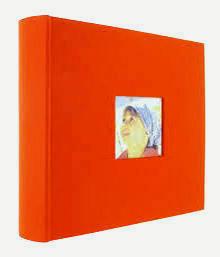 album 200szt 10x15 szyty pomarańczowy